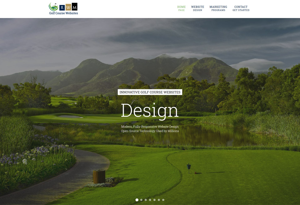 Golf Websites